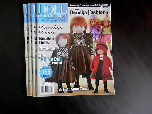 DOLL COLLECTOR - Back issue: September 2010
