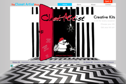 COMING SOON-Closet Artist website