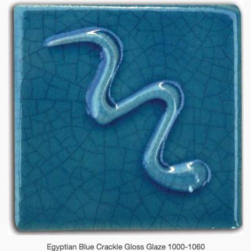 CESCO - EGYPTIAN BLUE CRACKLE GLOSS GLAZE  6132 - 500ml