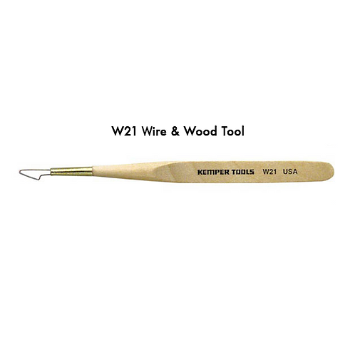 W21 WIRE AND WOOD TOOL 5 inch