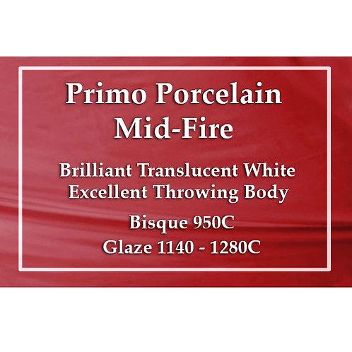 PRIMO MID FIRE PORCELAIN 10kg