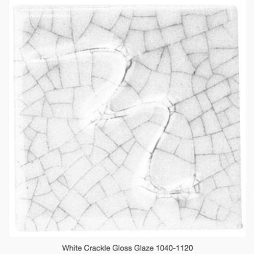 CESCO - WHITE CRACKLE GLOSS GLAZE  6001 - 500ml