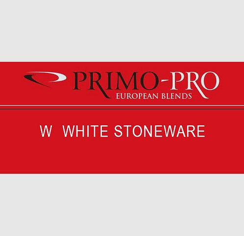 Primo-Pro W - White Stoneware - 10kg