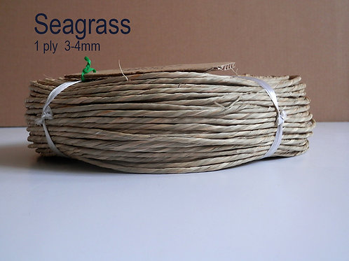 Seagrass Cord - Coil.  1 Ply  3-4mm