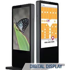 digital display; digital menu