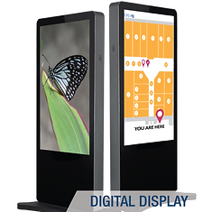 digital display; digital menu