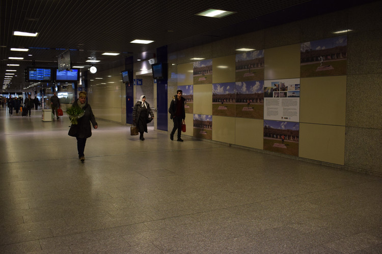 Flying Carpet @ Brussels-South Train Station