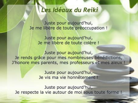Atelier de formation Reiki 1er niveau