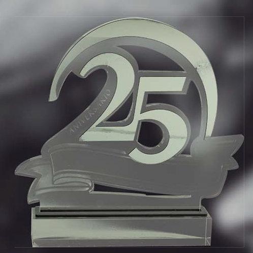 Aniversarios 25 o 50 años en Metacrilato