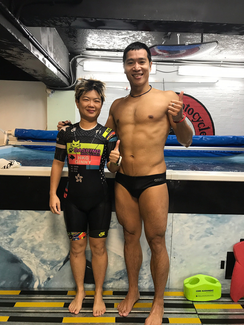 WTC 競技運動員_訓練