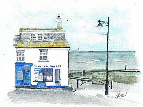 Cobb Gate Fish Bar, Lyme Regis