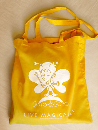 SAFFRON YELLOW FAIRY TOTE