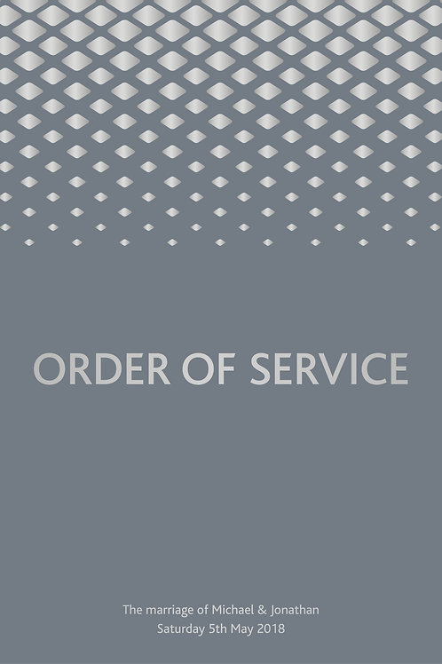 Palazzo - Order of Service