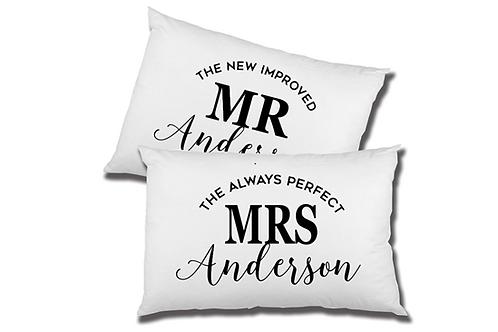Wedded Couple Pillowcases