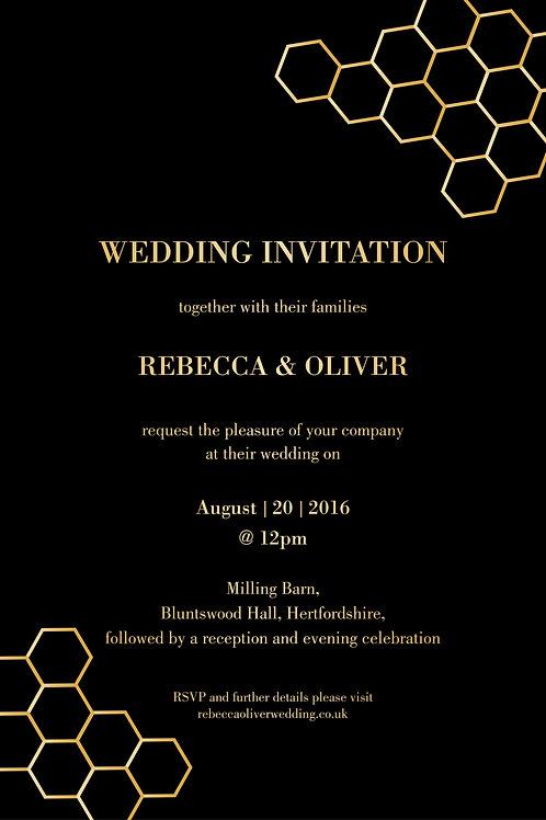 Amber - Invitation
