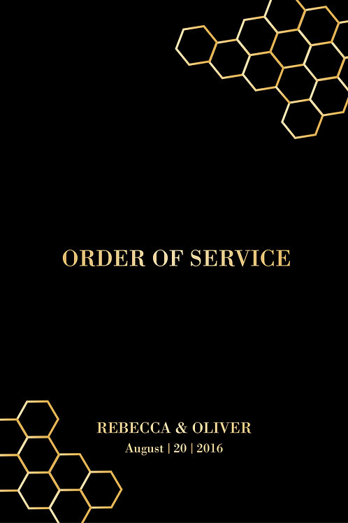 Amber Order Of Service