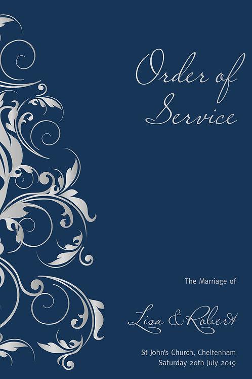 Versailles - Order of Service