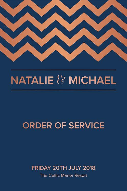 Hampton - Order of Service