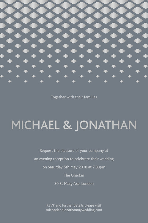 Palazzo - Evening Invitation