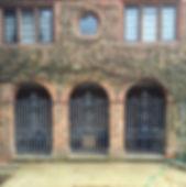 Iron gate, steel gate, garden gate, hand forged gate, adrian payne, little hampden forge