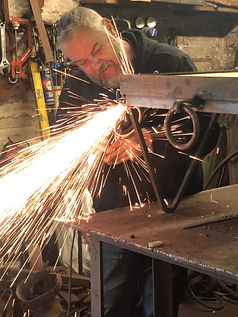 Adrian Payne, blacksmith, metal design, sculpture, industrial design, little hampden forge