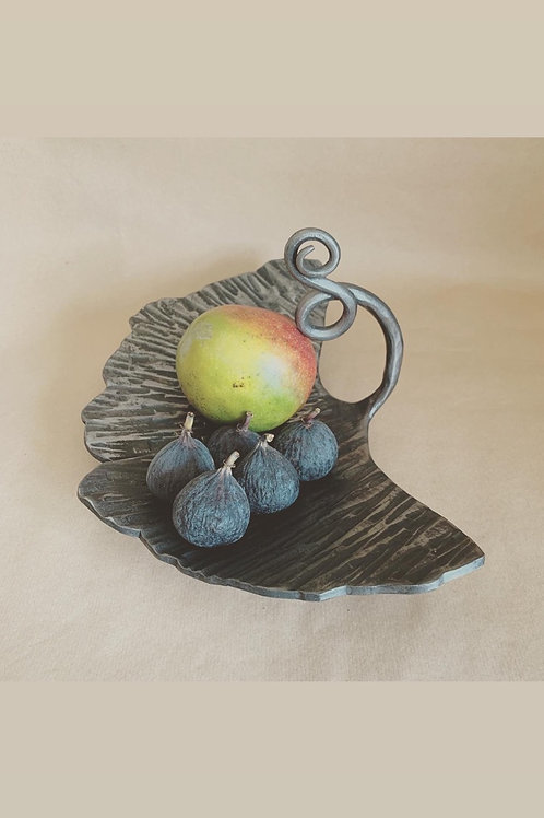 Ginkgo leaf Fruit Bowl