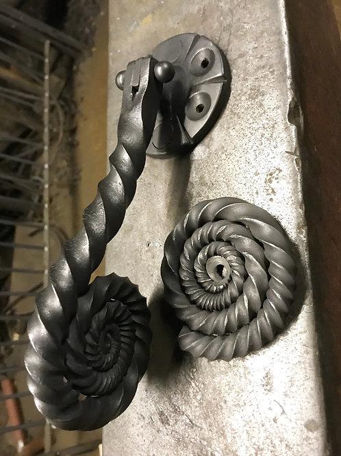 Fossil  door knocker