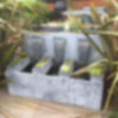 Water feature, metal water feature, steel water feature, iron water feature, garden water feature, adrian payne, little hampden forge