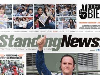 """Standing News se une a nuestra campaña """"Llega Bien"""""""