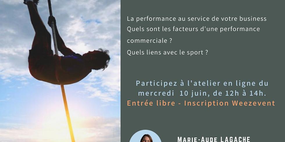La performance commerciale, c'est du sport !