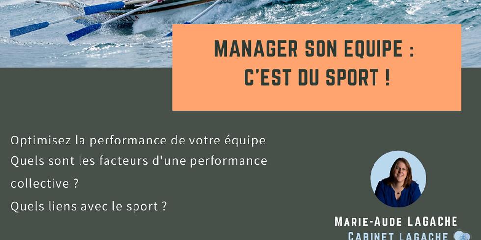 Manager son équipe c'est du sport !