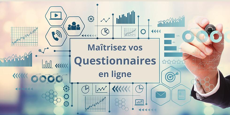 Atelier : maitrisez vos questionnaires en ligne