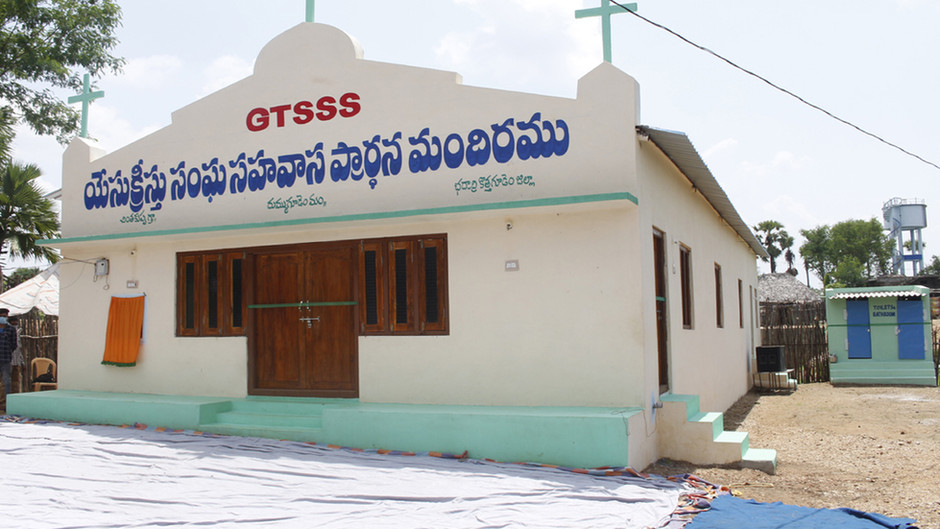 Kirkon avajaiset Intiassa