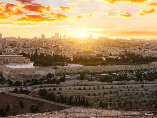 Ylös Jerusalemiin!