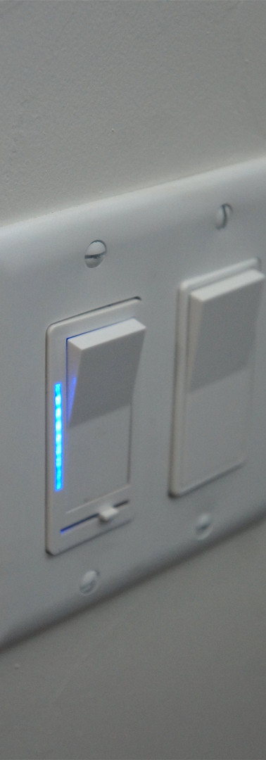 Dimmable light switches to set the mood for your loft