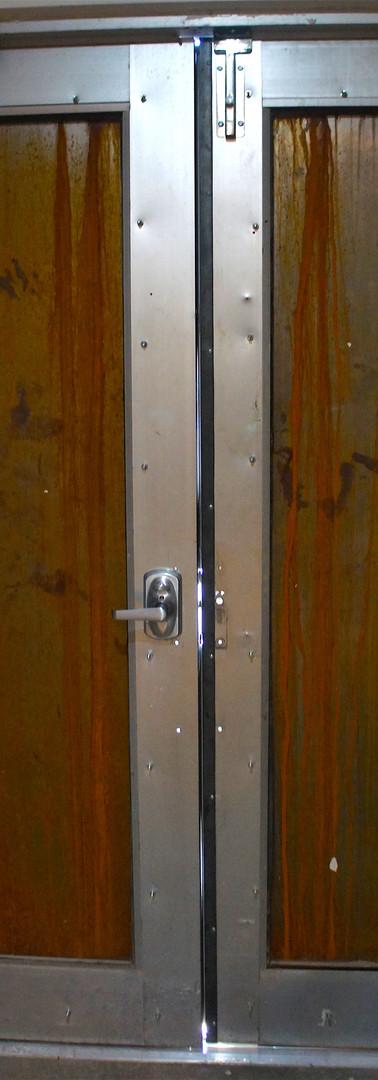 Steal security doors