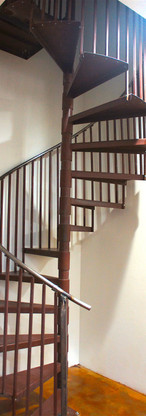 Steal spiral staircase