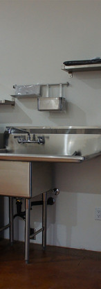 Stainless steal, modern industrial looking, energy efficient appliances.