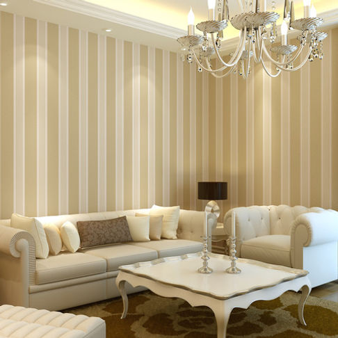Consider impact of light: In a north-facing room, dark hallway, or windowless space, look for wallcoverings that will reflect light around the room, ...