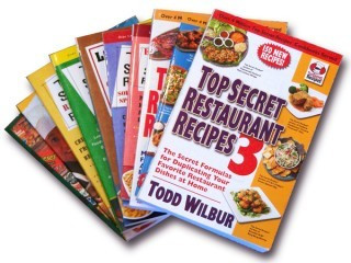 Secret Recipes from Olive garden, mcdonald's, red lobster, applebee's, red robin, houston's, and many more restaurants