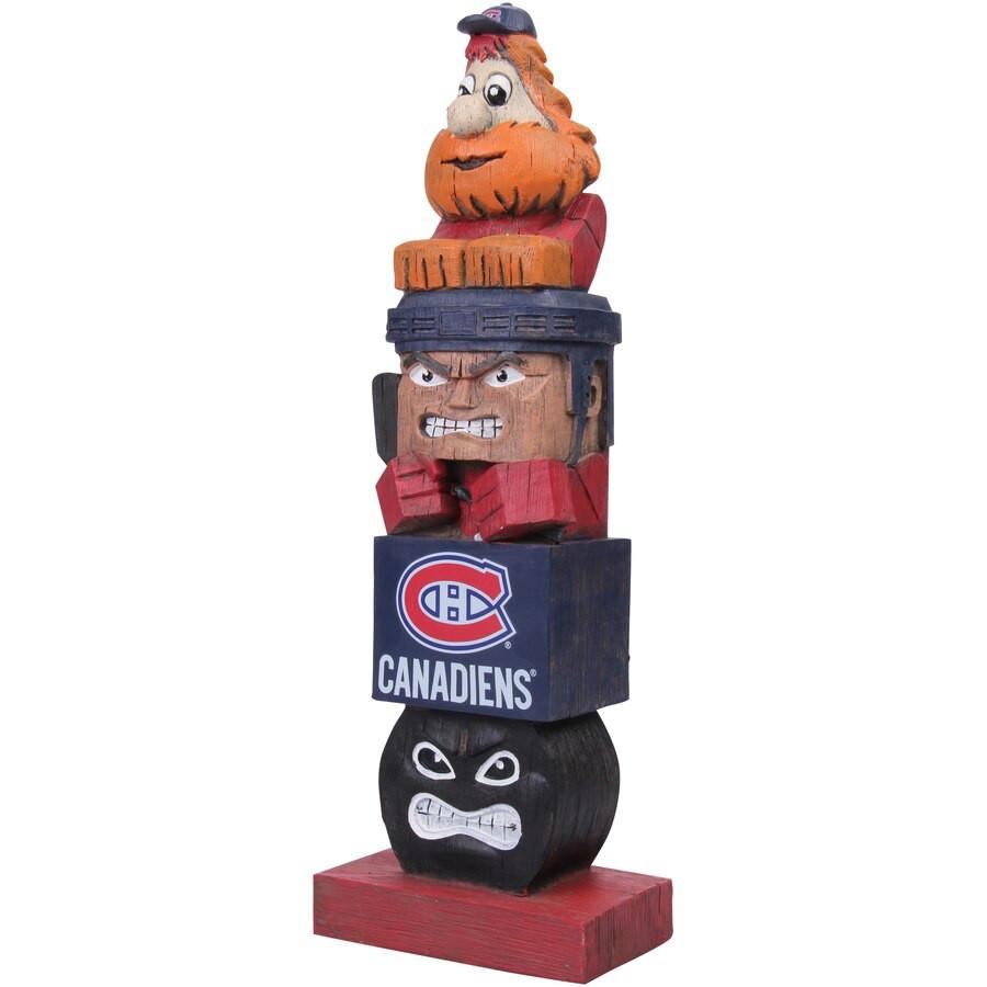 Montreal Canadiens Habs Tiki Totem Pole NHL Hockey