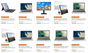 Samsung tablets chromebooks monitors on sale deals promotion coupons save money