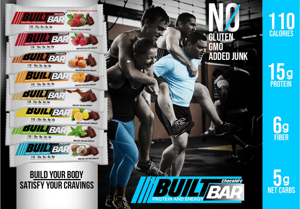 Built Bar Protein bars taste best taste protein bars coupon code promo code discount sale