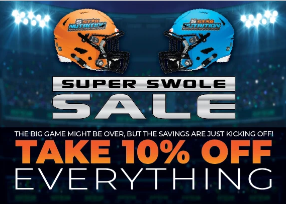 10% off Plus Free Shipping - Super Swole Sale - 5 Star Nutrition