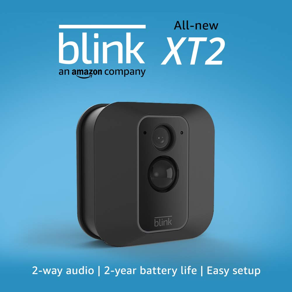 Blink XT2 indoor outdoor secrity camera home safety camera motion detection night vision camera