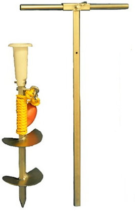 """6"""" Boat Auger with 30"""" Handle"""