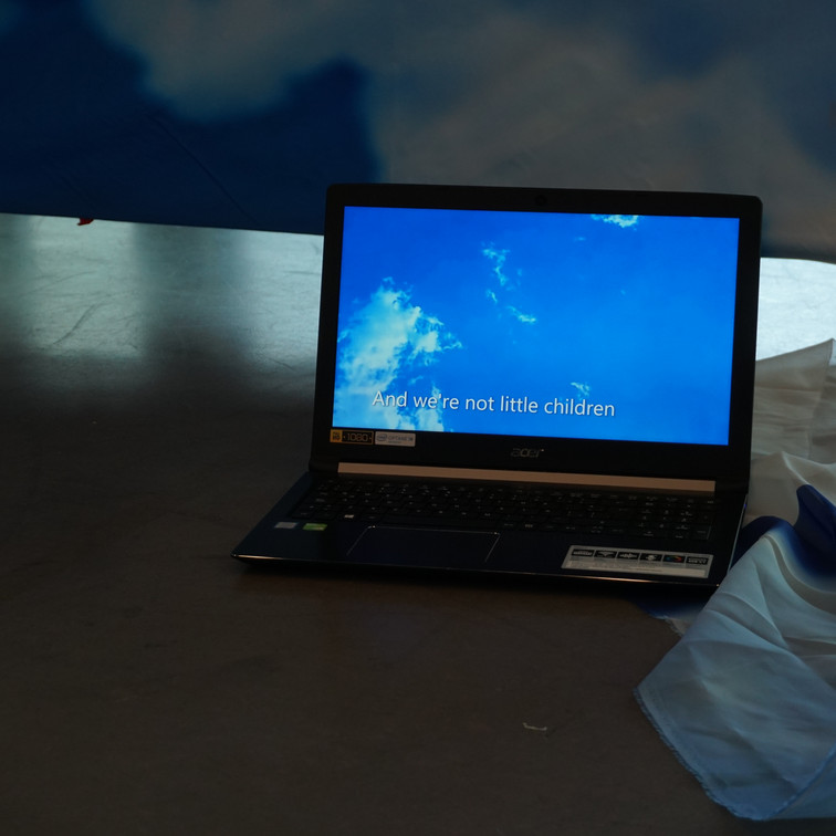 Azul metafórico enla construcción ydeconstrucción de un espacio