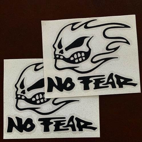 adhesivo decoración No Fear