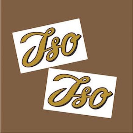 adhesivos moto clásica ISO
