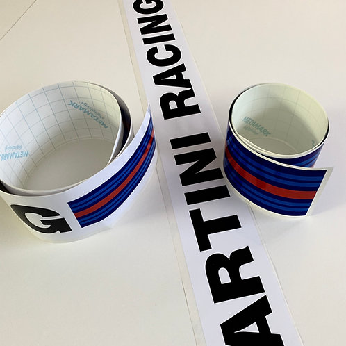 Adhesivos decoración coche Martini Racing